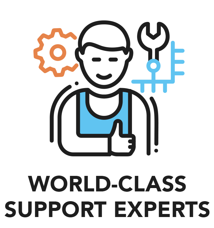 World Class Support Experts